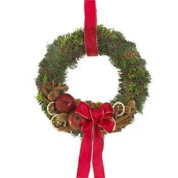 Aromatic Door Wreath
