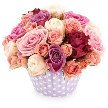 Arrangement Pink Roses