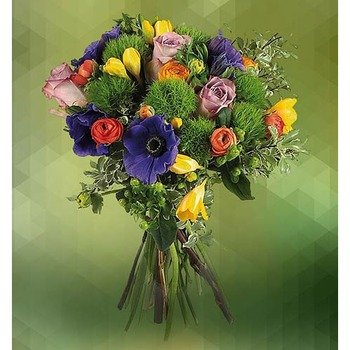 Bouquet of Coloured Flowers