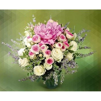 Arrangement of Mixed Pink Flowers