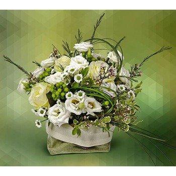 Centerpiece of White Flowers