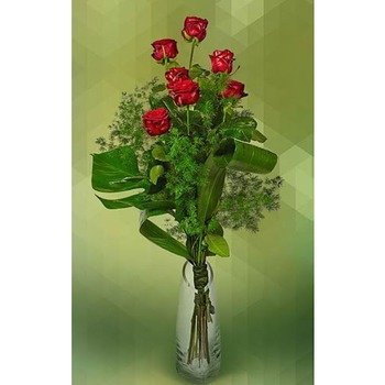 7 Red Roses Longstem (Vase not Included)