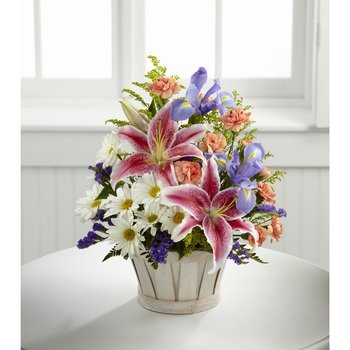 Wondrous Nature Bouquet Basket