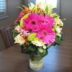 Pink Vase Arrangement