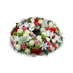 Medium multicoloured wreath