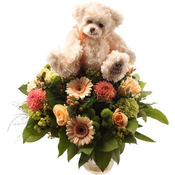 Cuddly bouquet