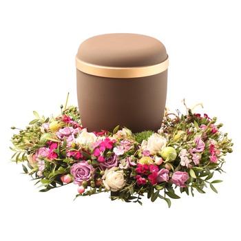 Urn decoration (excl. urn)
