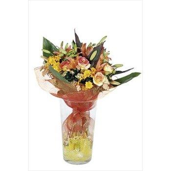 Bouquet of Seasonal Flowers (Vase not Included)
