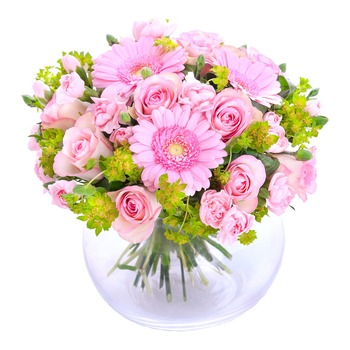 Hugs for Happiness, Pink (Vase not Included)