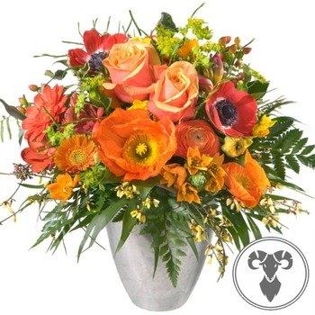 Aries Bouquet (21.03. - 20.04.) (Vase Not Included)