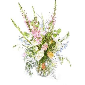 Plenty in life Funeral Bouquet in a vase