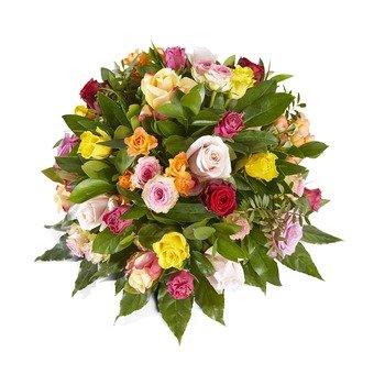 Embrace me - Funeral Bouquet Biedermeier - Vase not included