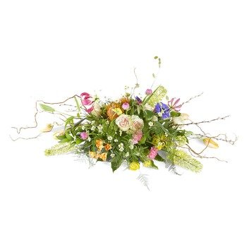 Silent words Funeral Bouquet Ovaal