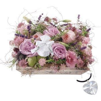 Fragrant Jewel Box with Swarovski Crystal Heart