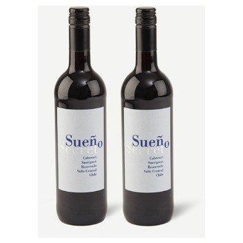 Two bottles of Sueño Secret, Cabernet Sauvignon