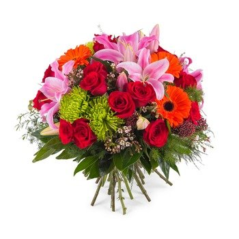 Bouquet of mixed flowers (Vase Not Included)
