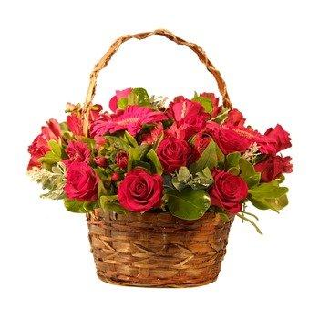 Ruby Red Basket