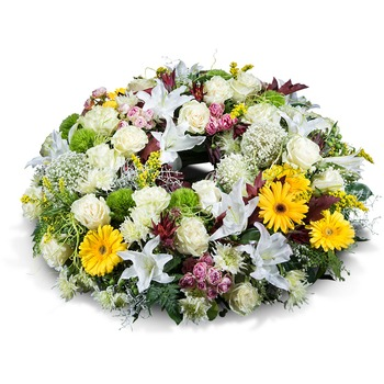 Medium mixed wreath