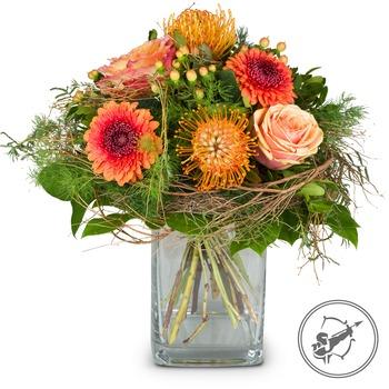 Bouquet Sagittarius (Nov 23 - Dec 21) (Vase not included)