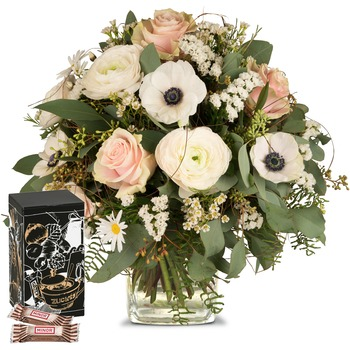 Because you exist with Minor Split in trendy gift tin (Vase not included)