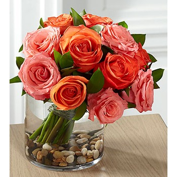 The FTD Blazing Beauty Rose Bouquet