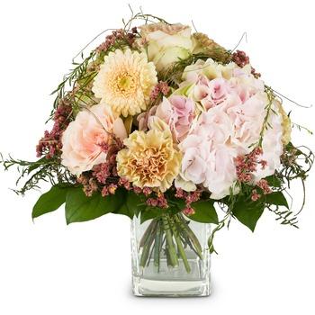 Romantic Hydrangea Bouquet (Vase not included)