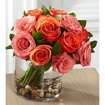 The FTD Blazing Beauty Rose Bouquet