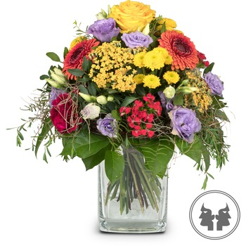Bouquet Gemini (May 21 - June 21) (Vase not included)