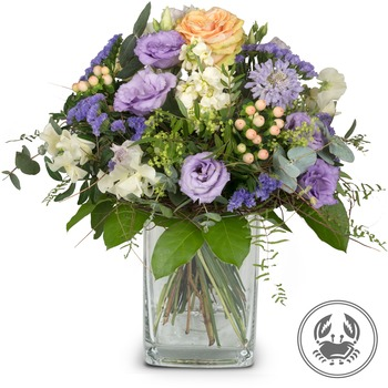 Bouquet Cancer (June 22 - July 22) (Vase not included)