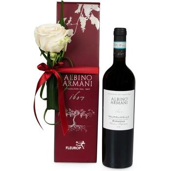 Kind Regards with Ripasso Albino Armani DOC (75 cl)