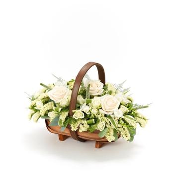 Mixed Basket White