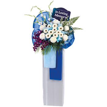 Sympathy Flower Stand - Never-Ending Friendship