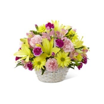 Basket of Cheer Bouquet (Vase Not Included)