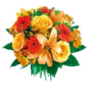 Flowers for Goldilocks in Orange