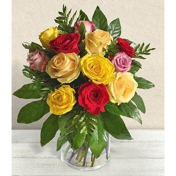 Fantasia di Rose (Vase not Included)