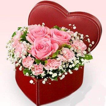 Precious Heartbox Arrangement