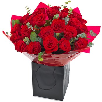 24 Red Roses (Vase not included)