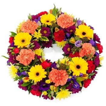 Bright & Vibrant Wreath